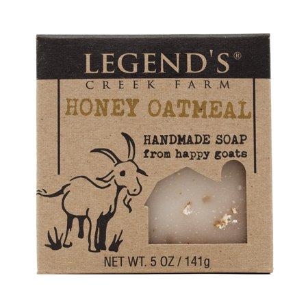Goats Milk Eczema (Honey Oatmeal Goat Milk Soap)