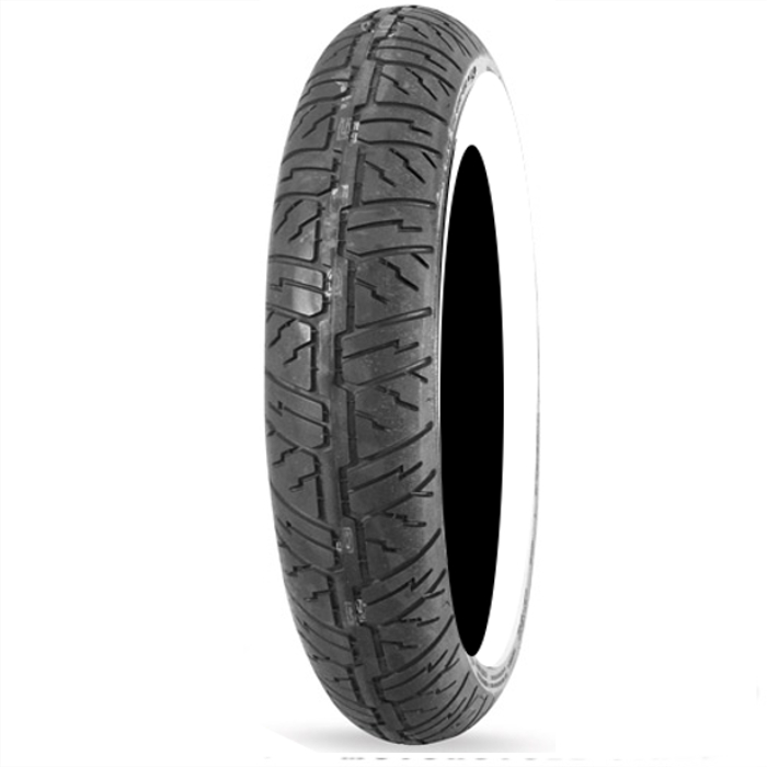 Dunlop Cruisemax Whitewall Metric Cruiser Bias Front Tire...