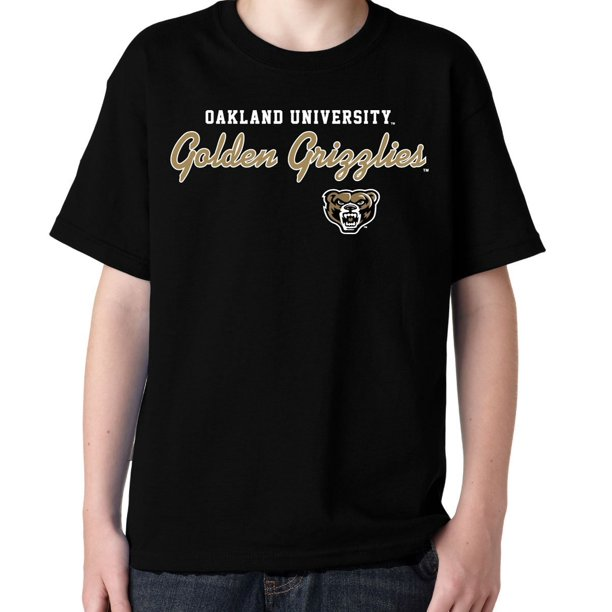 NCAA Oakland Golden Grizzlies T-Shirt V2