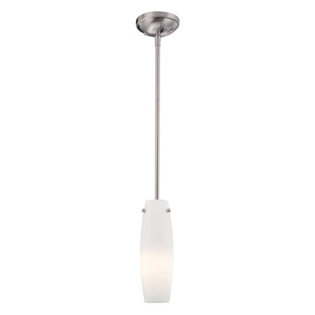 Minka Lavery 1 Light Hanging Mini Pendant Light with Glass Shade