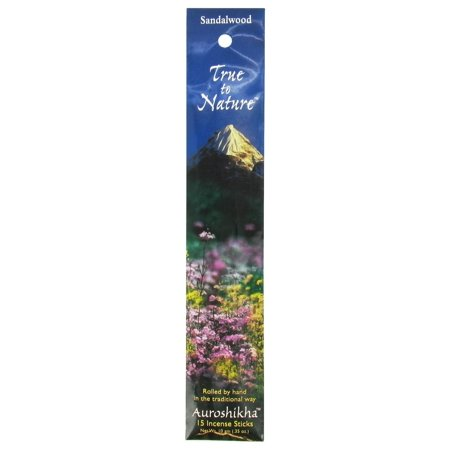 Auroshikha - True to Nature Incense Sandalwood - 16 Stick(s) ()