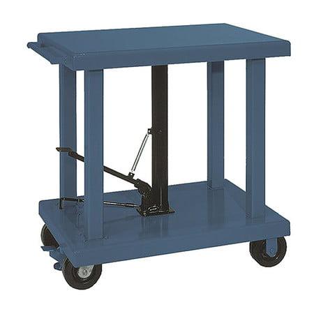 """Scissor Lift Table, 2000 lb. Cap, 24""""W, 36""""L WESCO 260062"""