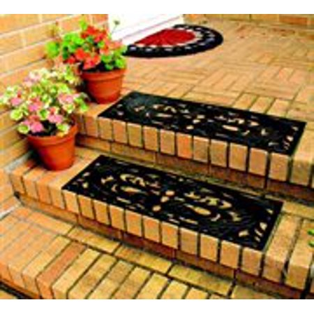Rubber Step Guards/Stair Mats- Set of 2