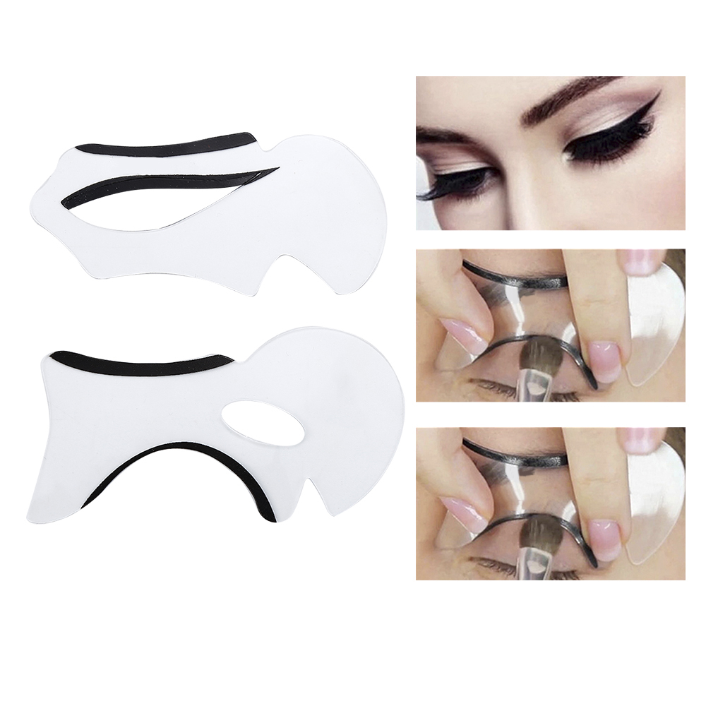 Cat Eye Template | Choifoo Perfect Cat Eyeliner Stencil Models Template Shaper Bottom