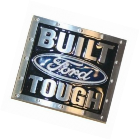 Built Ford Tough Belt Buckle All Metal ()