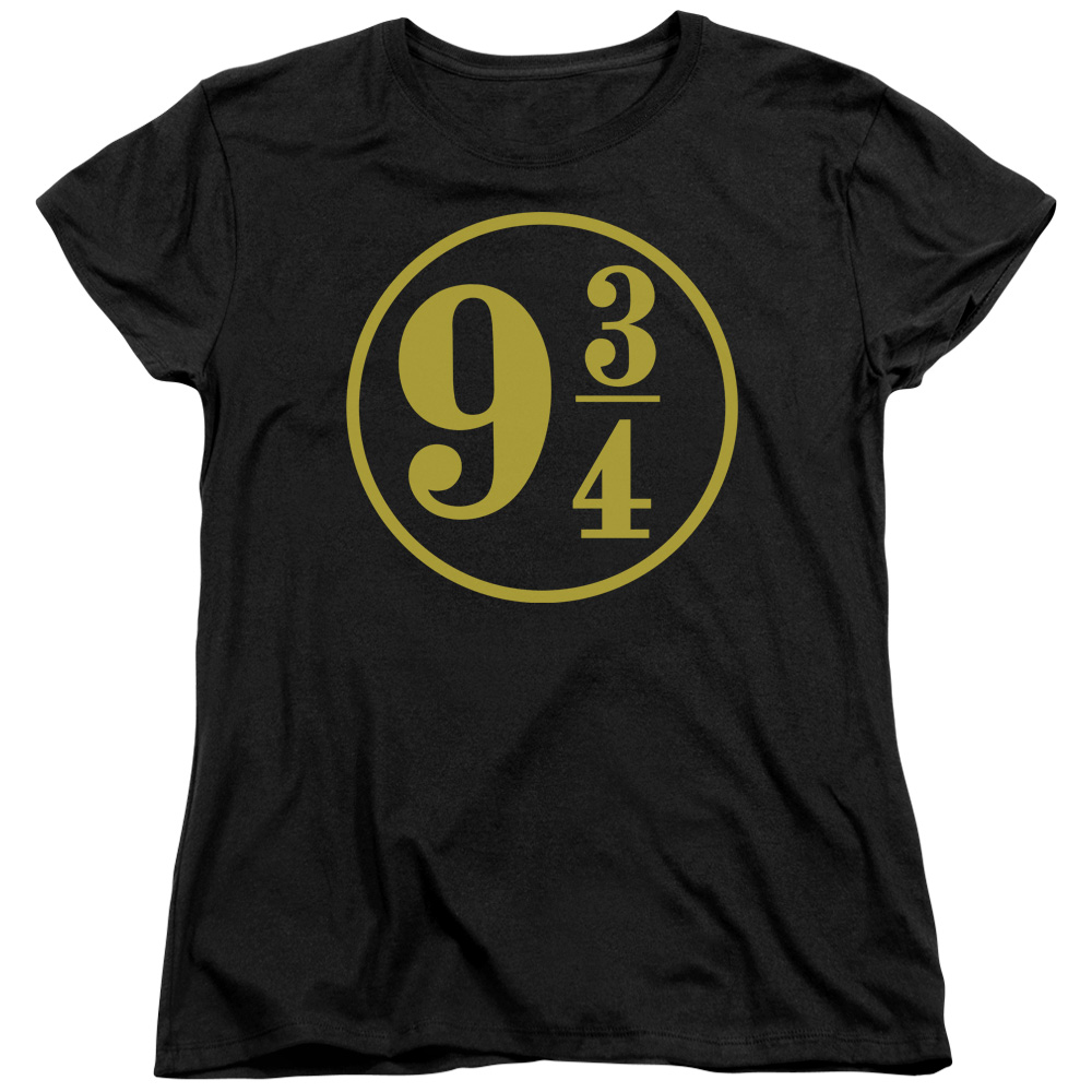 Harry Potter 9 3/4 Womens Short Sleeve Shirt