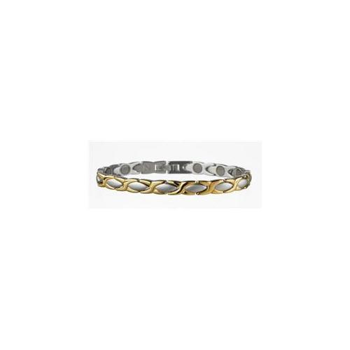 Serenity2000 10109 Stainless Steel Magnetic Bracelet Aphrodite 7 inch
