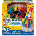 Crayola Pip-Squeaks Telescoping Marker Tower, 50/Set