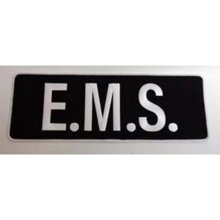Premier emblem emt back patch.