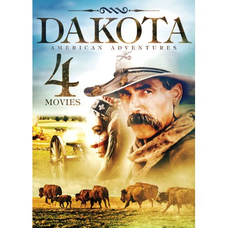 Dakota American Adventures: 4 Movies (DVD) - image 1 of 1