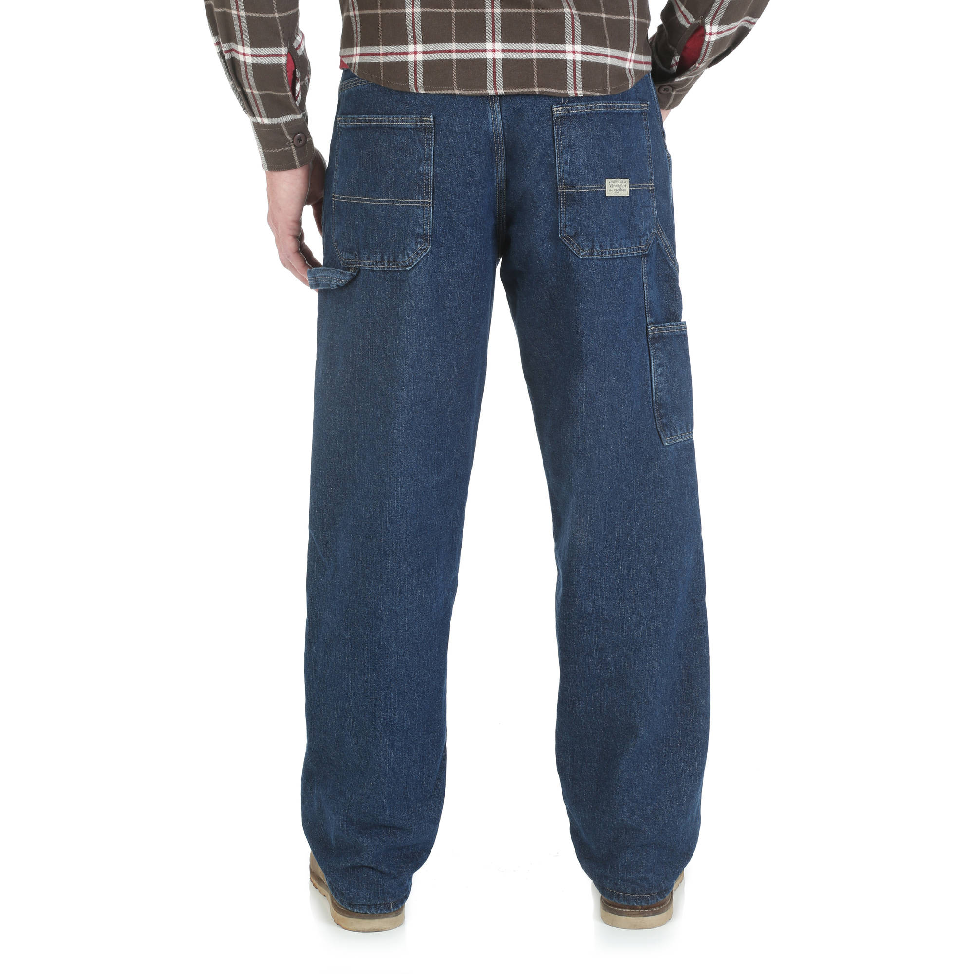 4e440a55 Wrangler - Men's Fleece Lined Carpenter Jean - Walmart.com