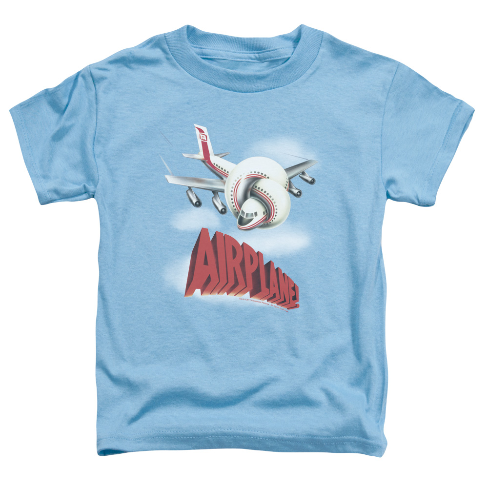 Airplane Logo Little Boys Shirt