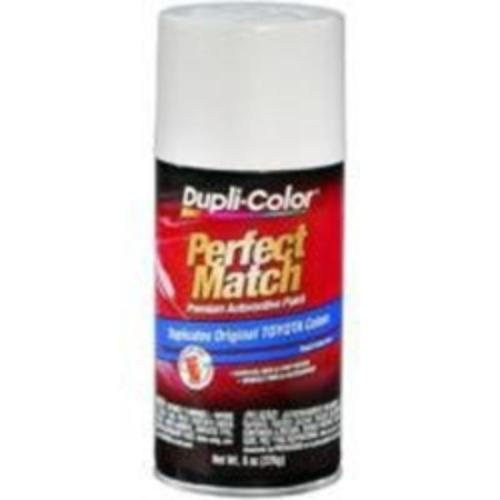 Krylon BTY1607 Perfect Match Automotive Paint, Toyota Natural White, 8 Oz Aerosol Can