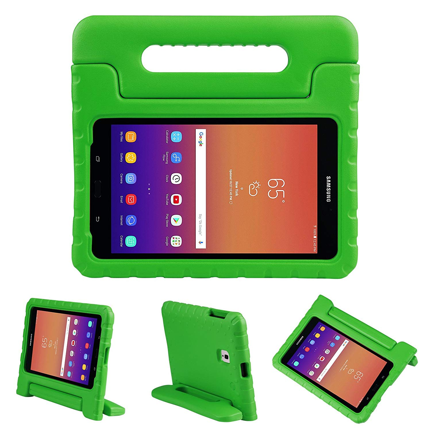 Samsung Galaxy Tab A 8.0 2017 T380 Case Shockproof Case Handle Stand Protection Cover For Kids Light Weight