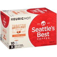 Seattle's Best Coffee, K-Cups, Toasted Hazelnut, 10 Count