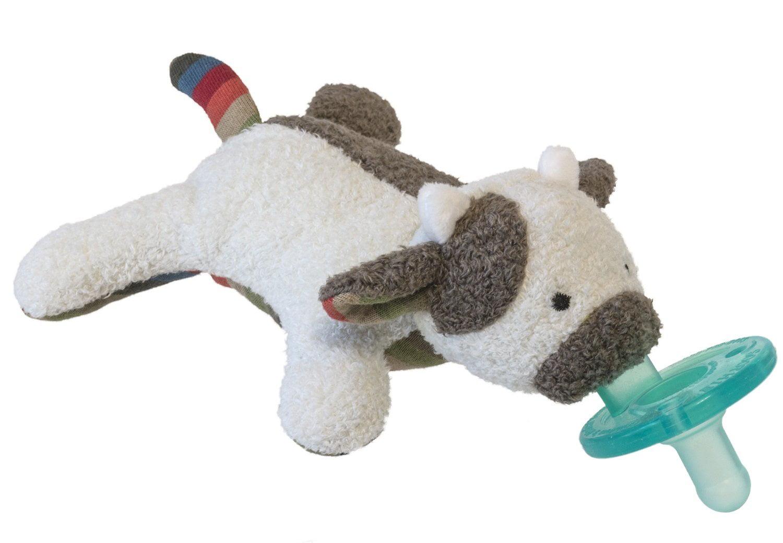 WubbaNub Infant Pacifier ~ BooBoo MooMoo Cow, Wubbanub pacifier with attached Mary Meyer BooBoo MooMoo plush... by Mary Meyer
