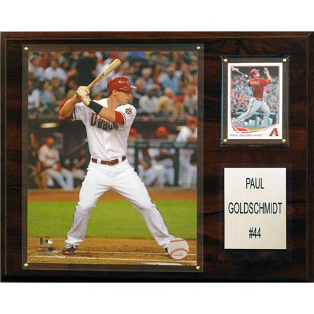 C&I Collectables MLB 12x15 Paul Goldschmidt Arizona Diamondbacks Player Plaque ()