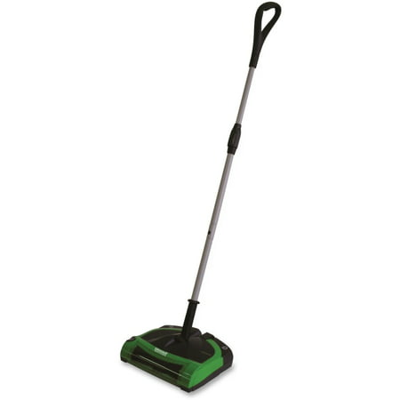 "BigGreen Cord-Free Electric Sweeper - 17 fl oz - 11.50"" Cleaning Width - Battery"