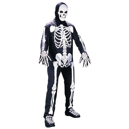 Home Made Skeleton Costume (Skeleton Costume)
