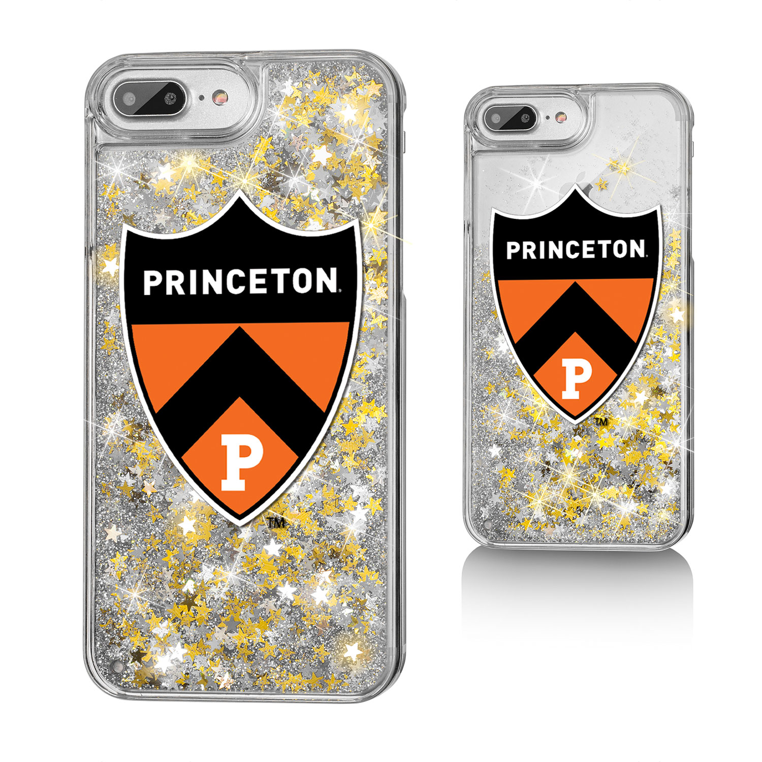 Princeton Tigers Insignia Glitter Case for iPhone 8 Plus   7 Plus   6 Plus by Keyscaper