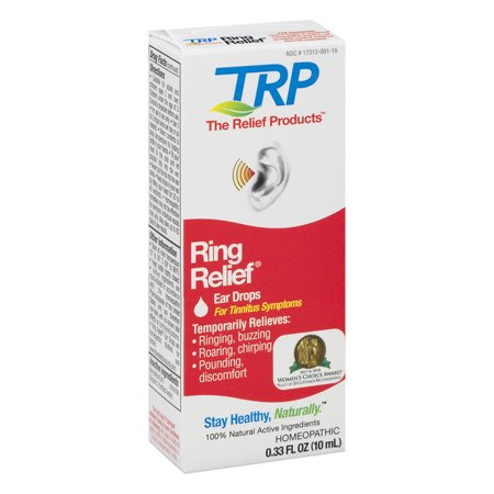 TRP Company Ring Relief 0.33 fl oz Liquid (Home Remedies For Ringing In Your Ears)