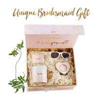 Kate Aspen Will You Be My Bridesmaid Kit, Bridesmaid Gift, Perfect Wedding Favor, Bridal Shower Favor and Bachelorette Party Supplies - 2 Sets