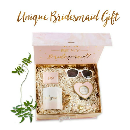Kate Aspen Will You Be My Bridesmaid Kit, Bridesmaid Gift, Perfect Wedding Favor, Bridal Shower Favor and Bachelorette Party Supplies
