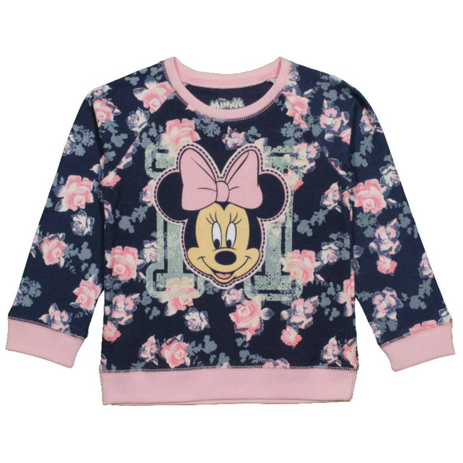 Minnie Mouse Baby Toddler Girl Floral Sweatshirt