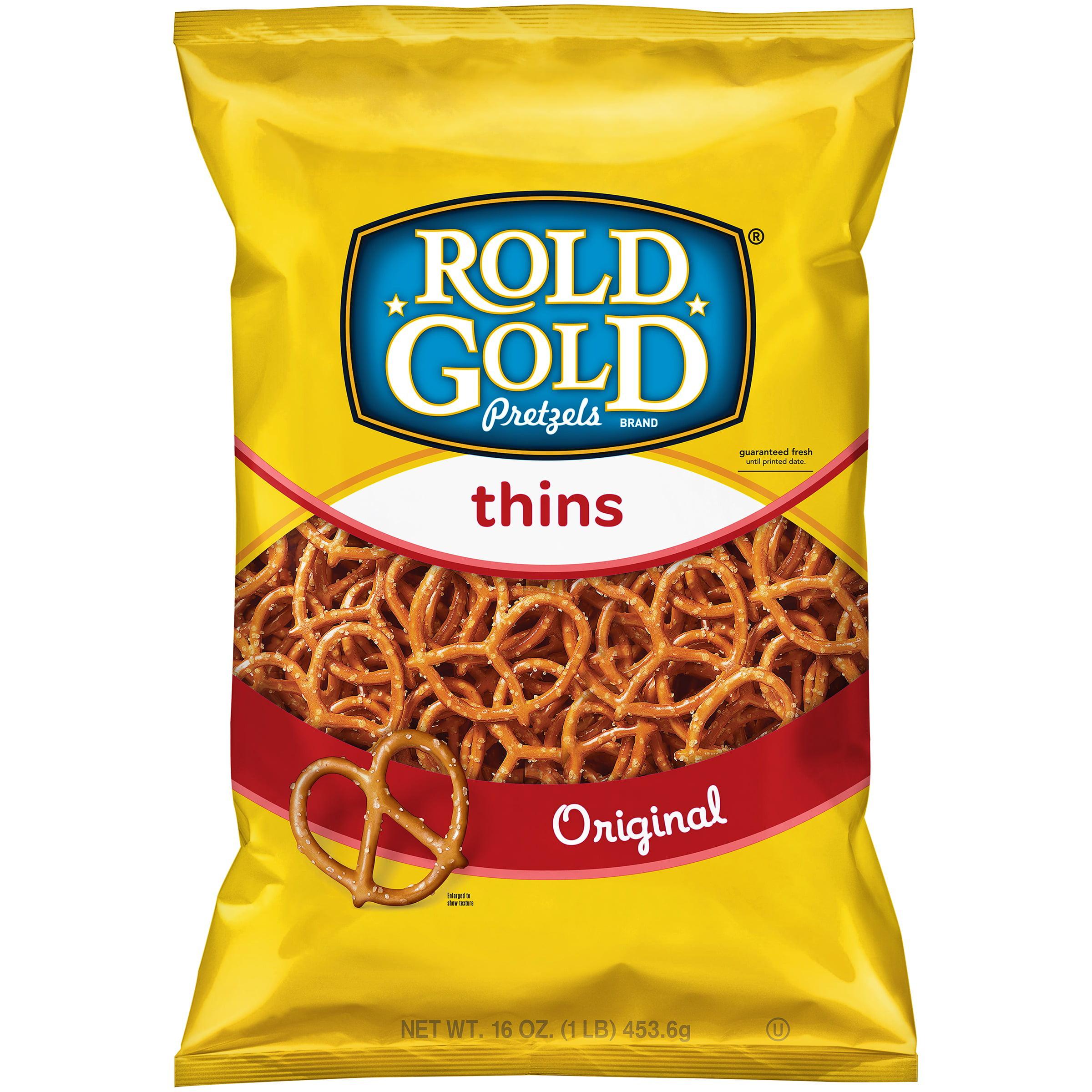Rold GoldThins Original Pretzels 16 oz. Bag by Frito-Lay, Inc.