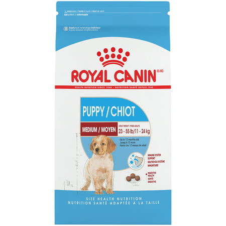Royal Canin Medium Breed Puppy Dry Dog Food, 30 lb