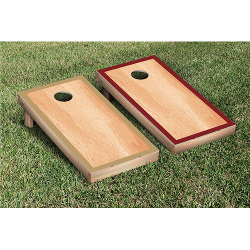 Victory Tailgate Hardcourt Cornhole Bean Bag Toss Game