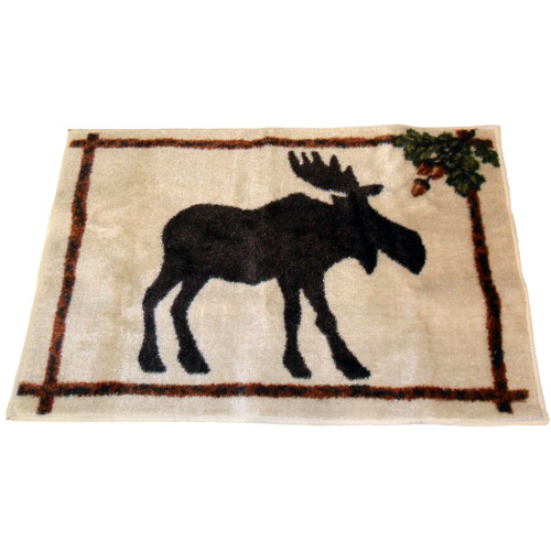 "Mainstays Timber Ridge Bath Rug, 1'3.5"" x 10.5"""