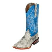 Ferrini Western Boots Womens Elephant Print Square Toe Gray 94493-49