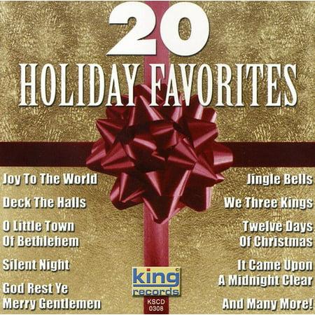 20 Holiday Christmas Favorites / Various