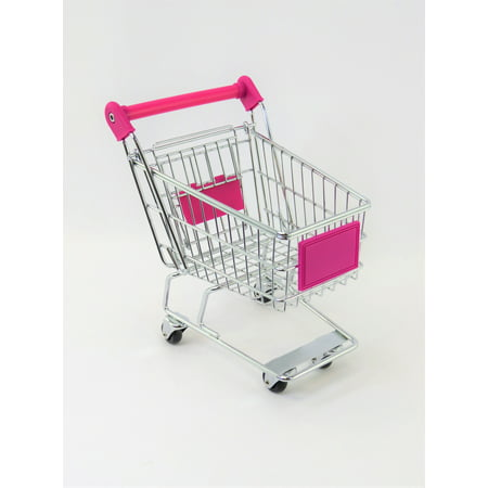 Hot Pink Shopping Cart | Fits 18