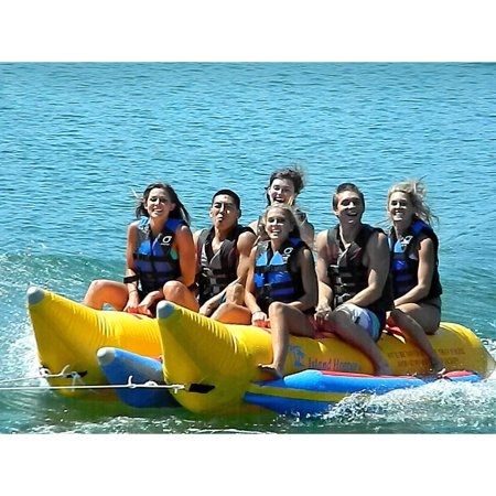 Island Hopper Commercial Side-To-Side Elite Class Banana Boat - 6 Person