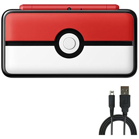 Nintendo 2DS Bundle:Nintendo New 2DS XL - Poke Ball Edition and USB Sync Charge USB