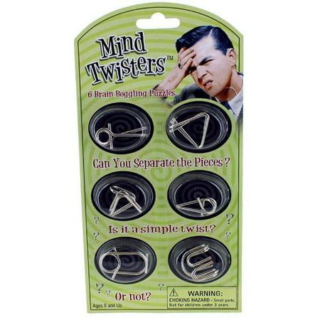Mind Twisters 6pk