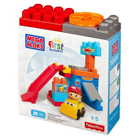 Mega Bloks Spin 'n Play Spinning Garage Playset - image 3 de 3