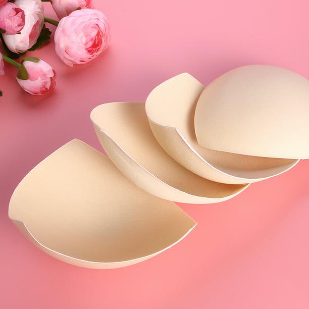 Pixnor 3 Pair Womens Removable Smart Cups Bra Inserts Pads For Swimwear Sports Skin Color Walmart Com Walmart Com