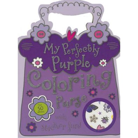 My Perfectly Purple Coloring Purse - Middle School Halloween Coloring Pages