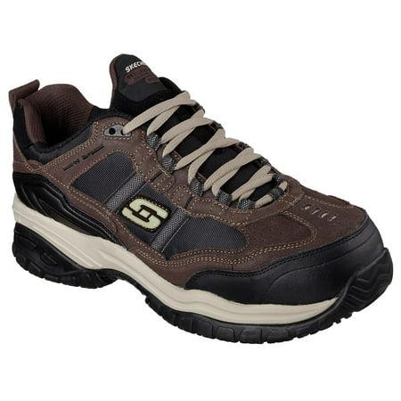 Skechers Work Mens Soft Stride Grinnel Athletic Composite Toe Safety Shoes