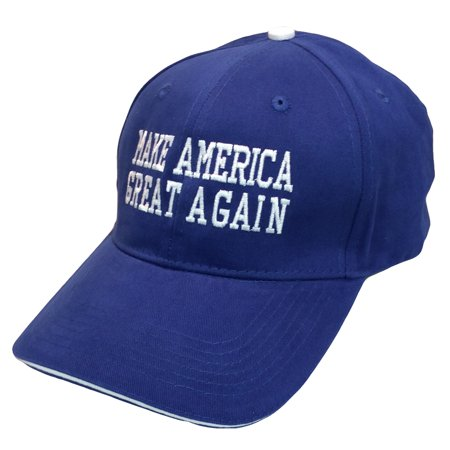 Pacific Headwear Donald Trump Make America Great Again Embroidered Sandwich Hat for $<!---->