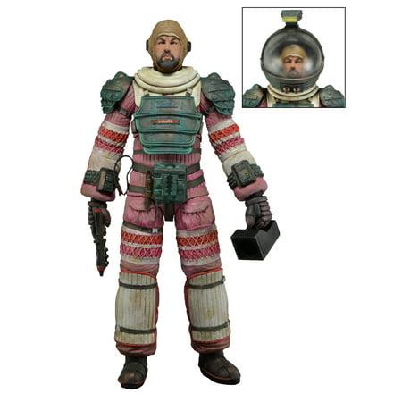 Aliens - Series 4 -  Dallas in Nostromo Suit - 7in Scale Action - Alien Morph Suit