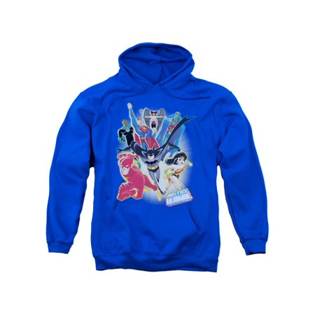 Justice League DC Comics Unlimited Adult Pull-Over Hoodie