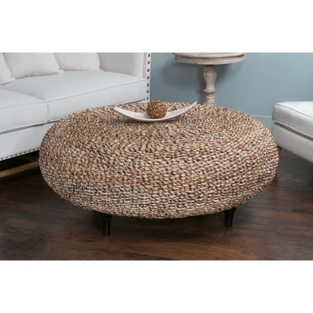 East At Main S Decorative Millersburg Natural Tan Round Coffee