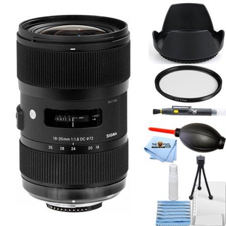 Sigma 18-35mm f/1.8 DC HSM Art Lens for Sony Alpha #210-205 STARTER (Sigma 18 35mm F 1-8 Dc Hsm L)