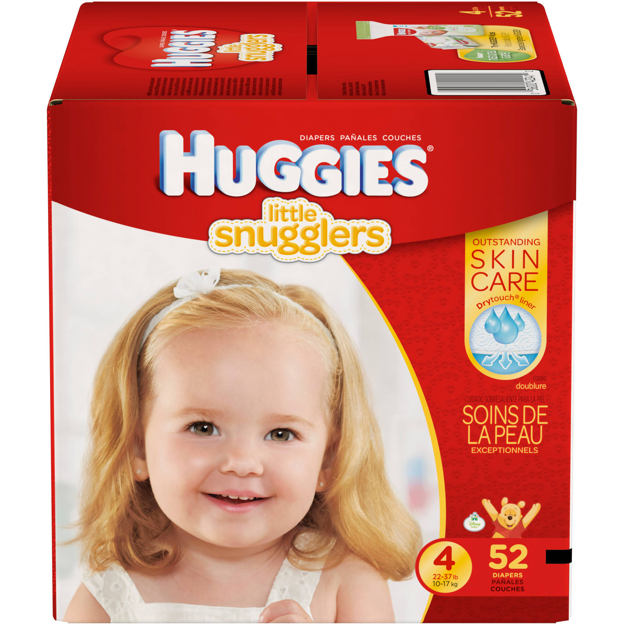 HUGGIES Little Snugglers Diapers, Big Pack (Choose Your Size)
