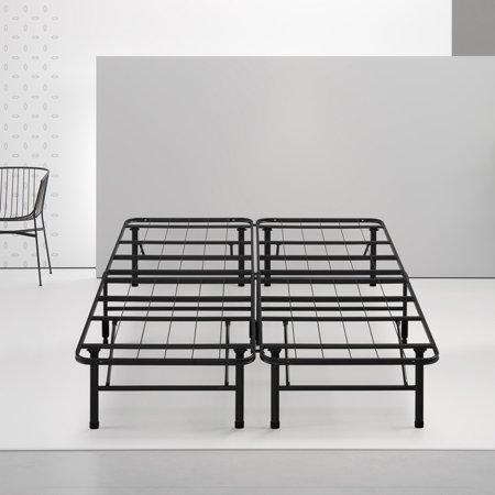 Spa Sensations By Zinus Steel Smartbase Bed Frame Black Multiple