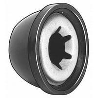 "Value Brand 5/8"" Steel & Plastic Cap Nuts, 10 pk., 138264000"